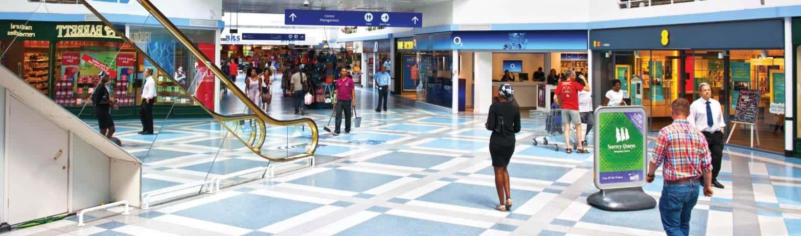 Surrey Quays Shopping Mall