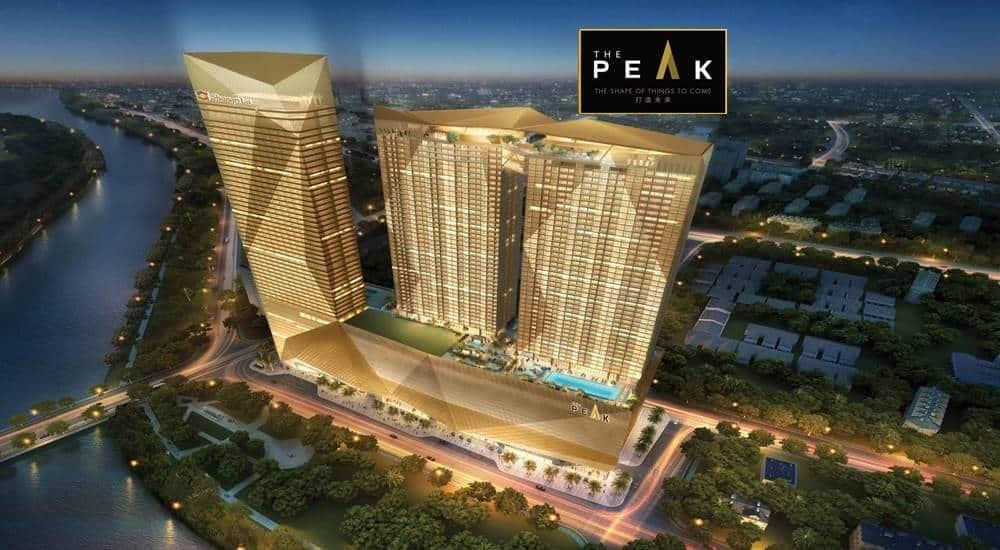 The Peak Cambodia -Aerial View