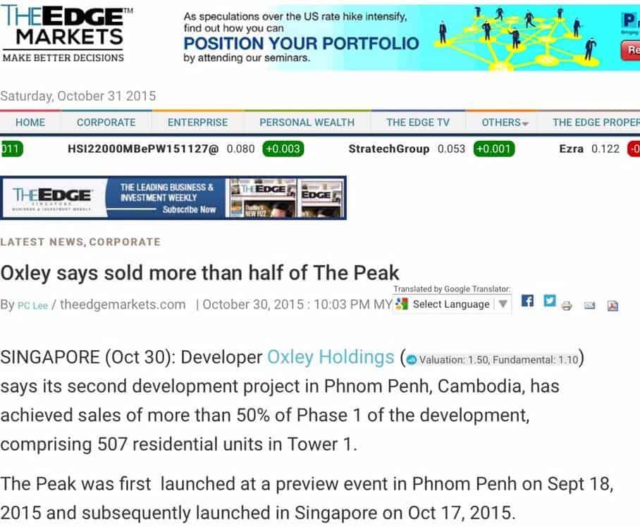 The Peak - Edge News 1