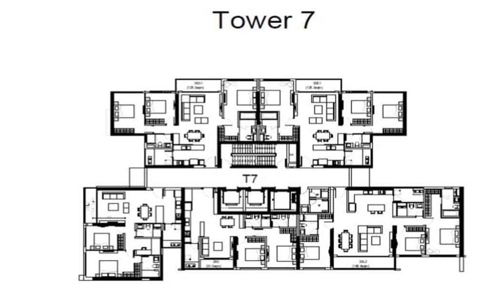 The View Riviera Point - Tower 7 Floor Plan