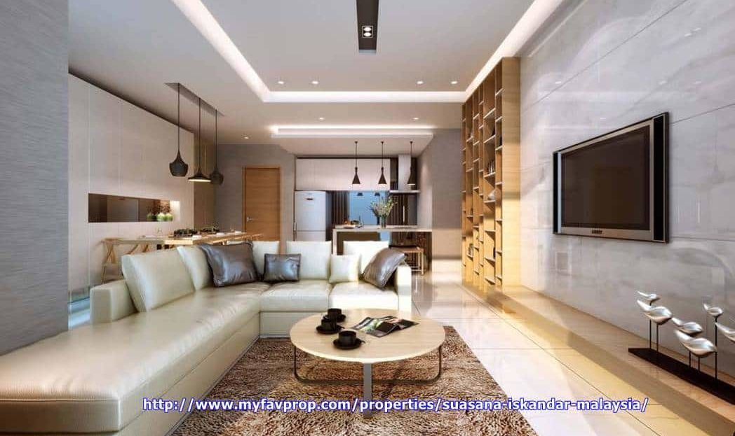 Suasana Iskandar Malaysia - Living area