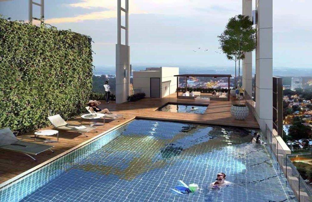 Suasana Iskanadar Malaysia - Sky pool