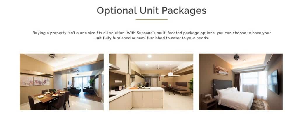 Suasana Iskandar Malaysia - Optional Unit Package