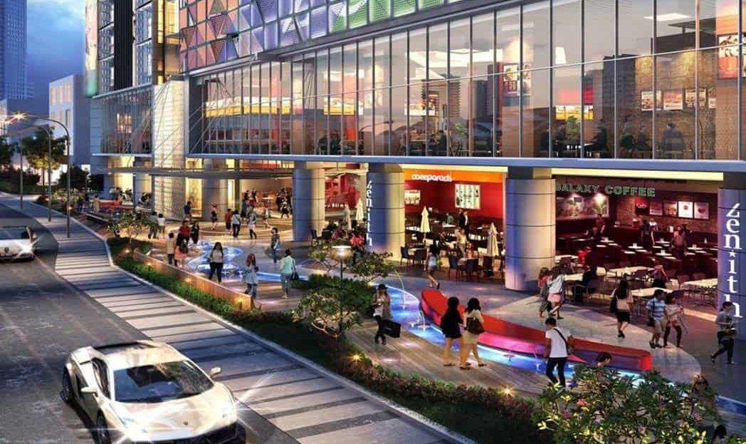 Suasana Iskandar Malaysia - Zenith Retail Facade