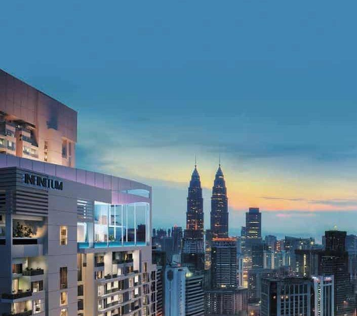 The Luxe by Infinitum - KLCC VIew