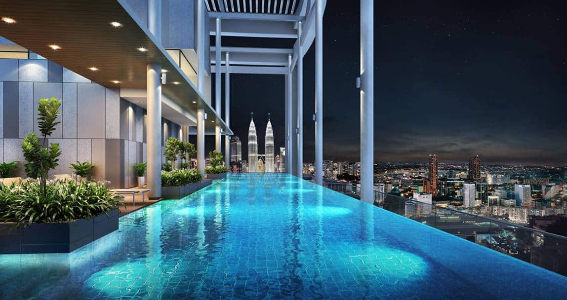 The Luxe by Infinitum - Lap pool