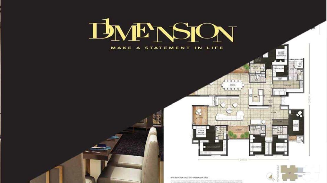 D1mension HCMC - Floor plan cover