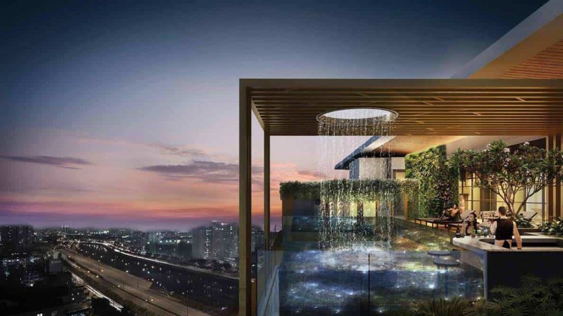 D1mension HCMC - sky pool