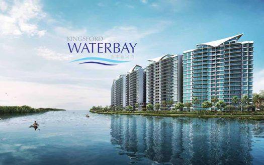 Kingsford Waterbay - waterfront facade