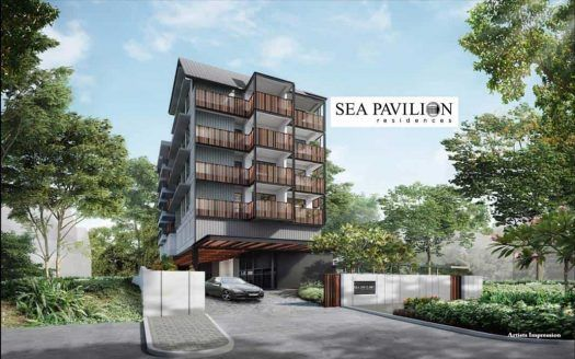Sea Pavilion Residences - Facade