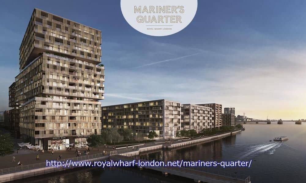 Royal Wharf Mariner's Quarter