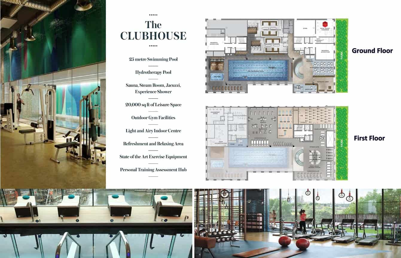 Royal Wharf London - Clubhouse