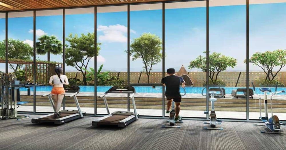 The Peak Gym Room