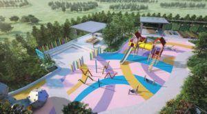 Kids Playground & Dining area