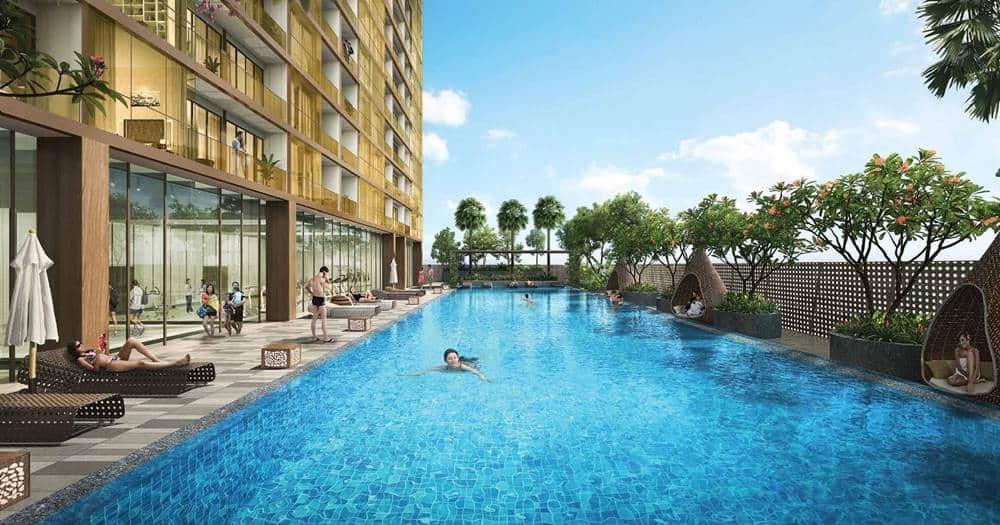The Peak Cambodia - L13A Swimming pool