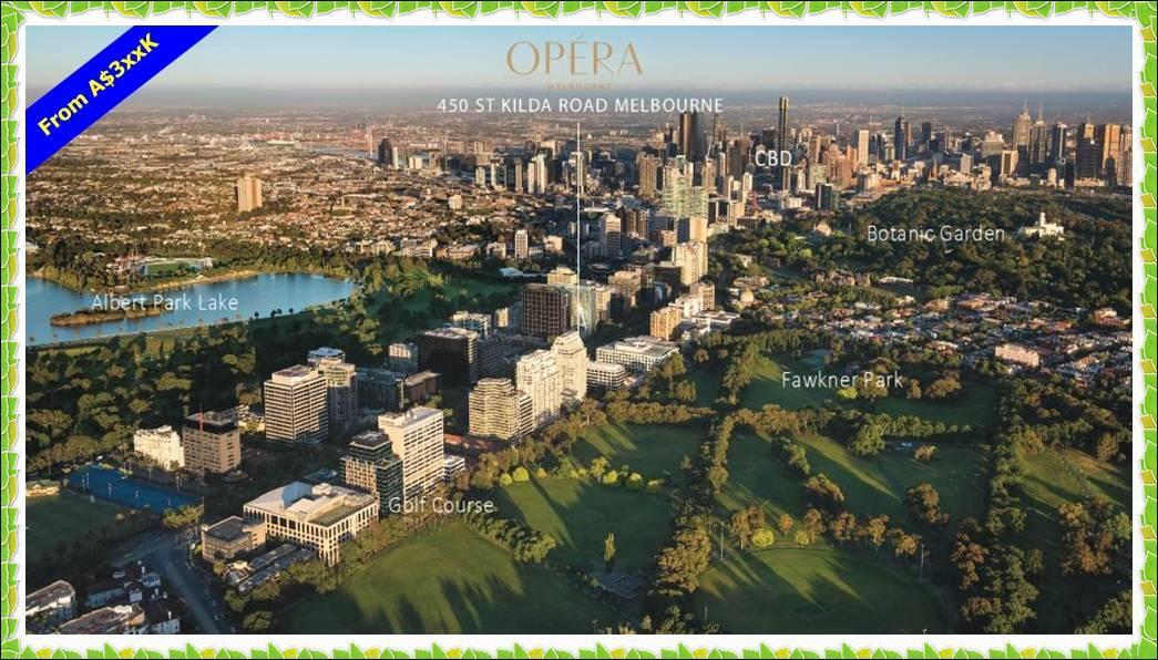 Opera Location Aerial View