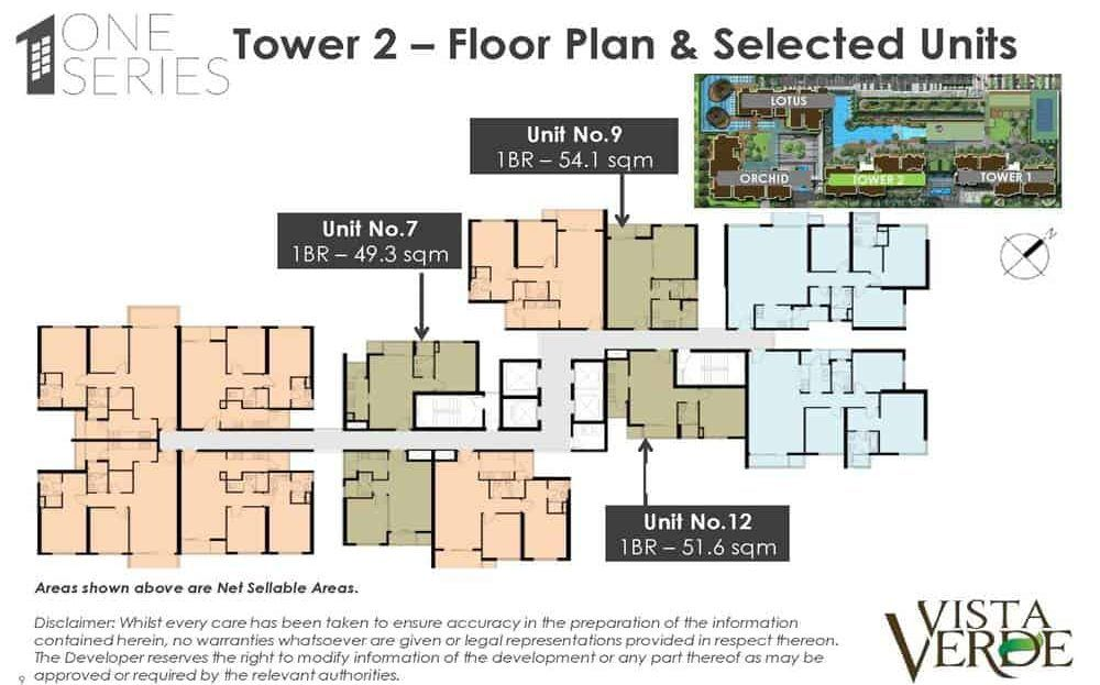 Vista Verde Tower 2 Floor Plan