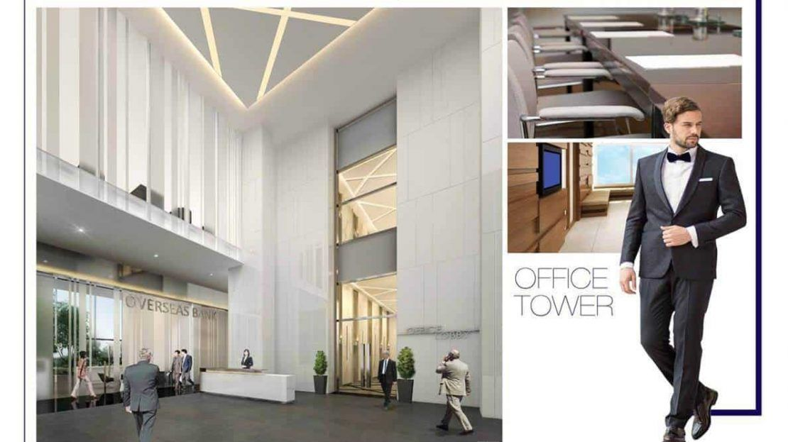 The Gateway Office Tower Lobby