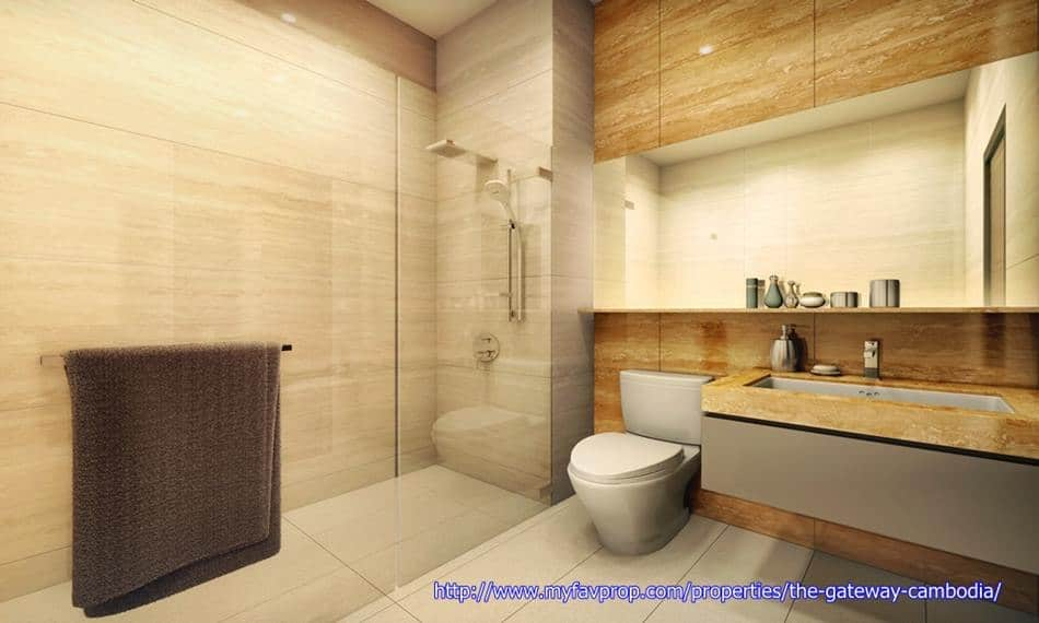 The Gateway - Resi Bathroom