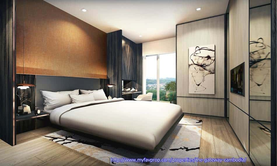 The Gateway - Resi Masterbed Room