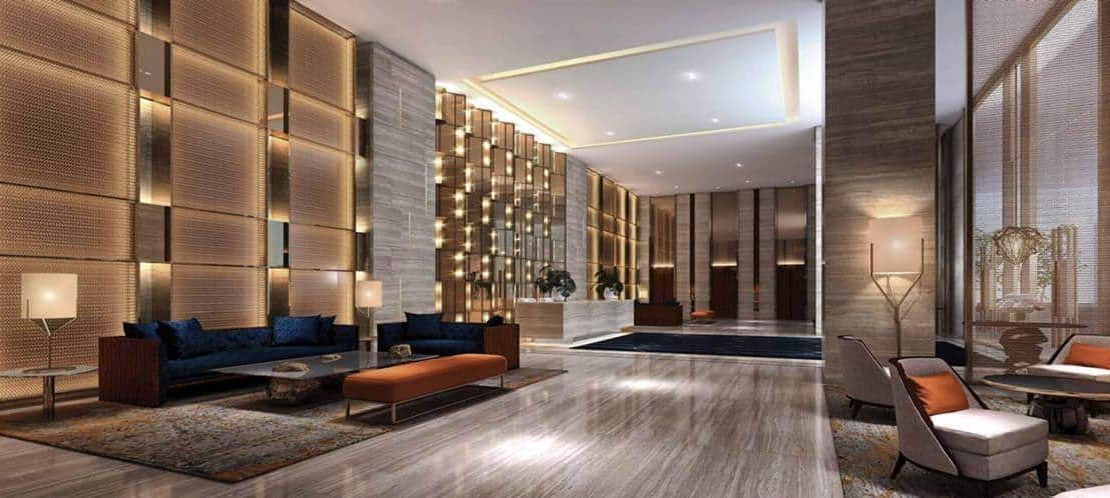 The Gateway Cambodia Residential Tower Lobby