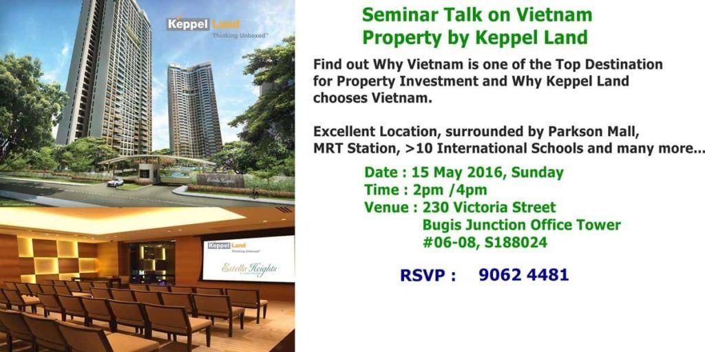 Estella Heights Seminar by Keppel Land