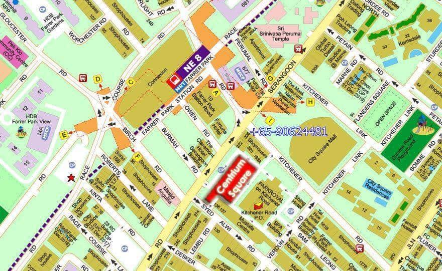 Centrium Square Location