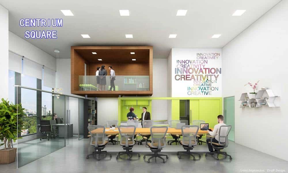 Centrium Square Office Layout