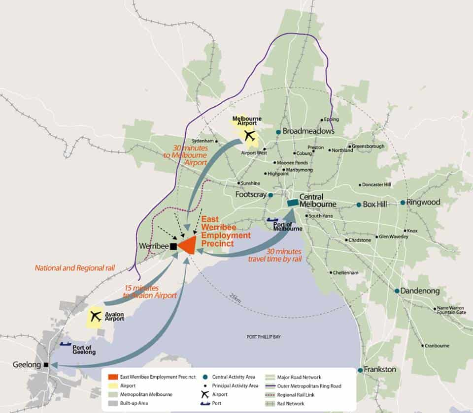 Elpis Melbourne - East Werribee Map