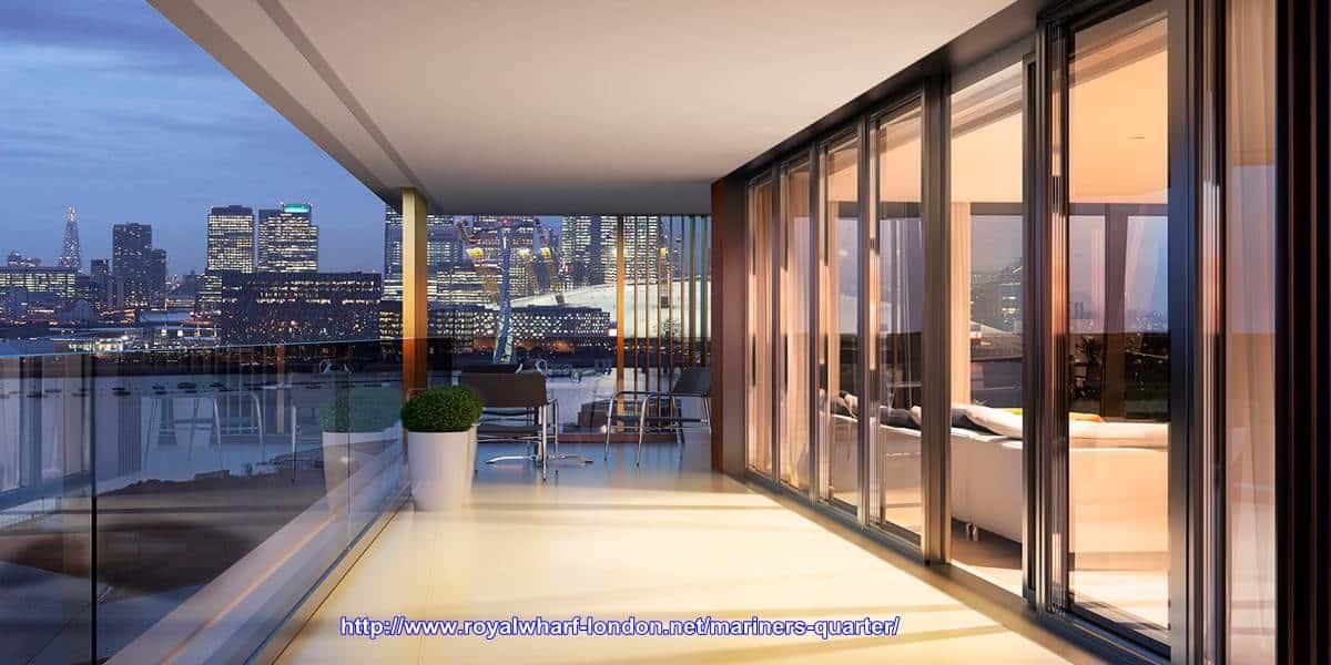 Mariner's Quarter - Large Balcony