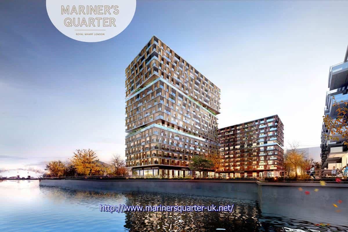 Mariner's Quarter - Royal Wharf Phase 3