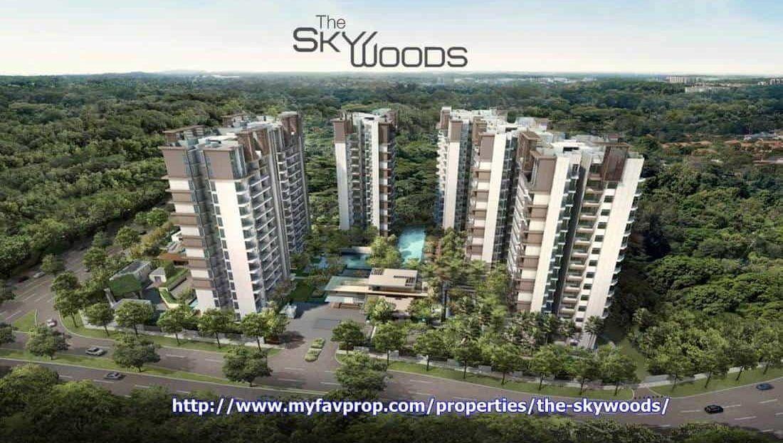 The Skywoods Facade