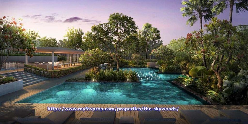 The Skywoods - Water feature 2