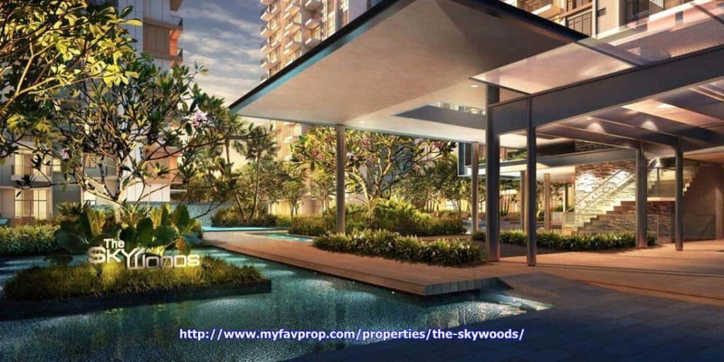 The Skywoods - Water feature