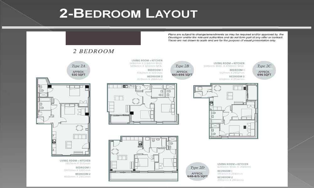 One Regeion Apartments - 2 Bedroom