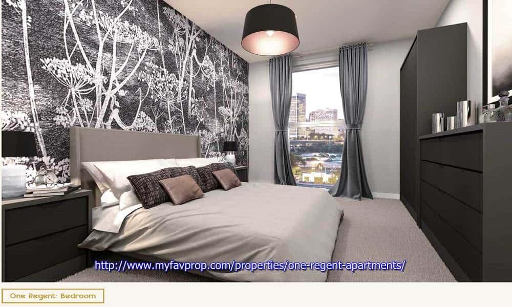 One Regent Apartments - Bedroom