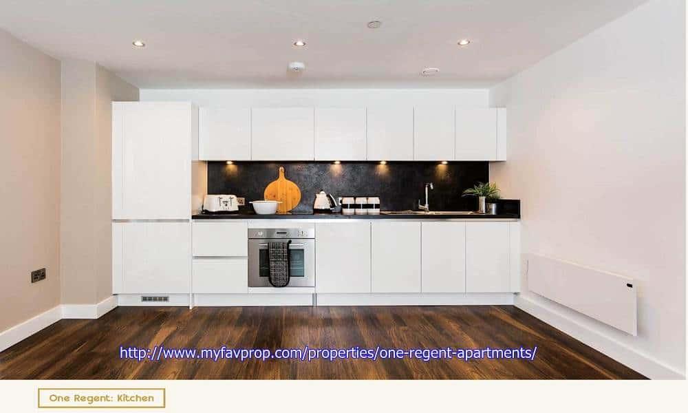 One Regent Apartments - Kitchen
