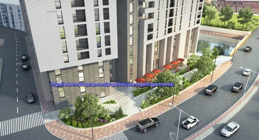One Regent Apartments - Podium