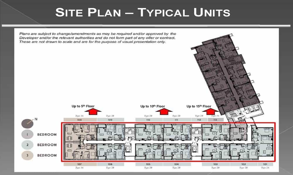 One Regents Apartment Site Plan