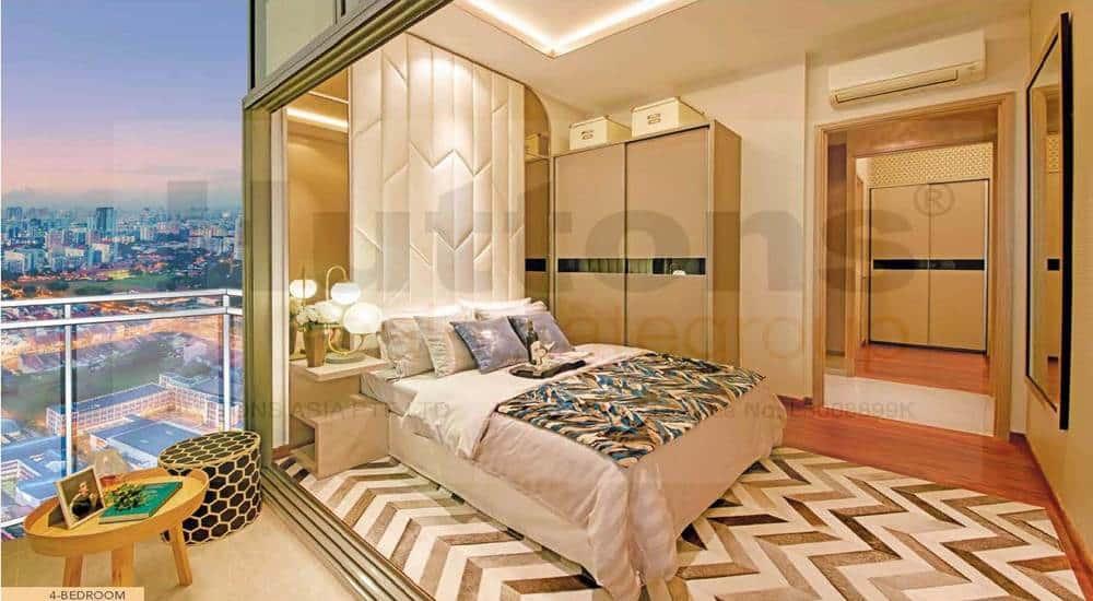 Sturdee Residences - 4BR Master Bedroom
