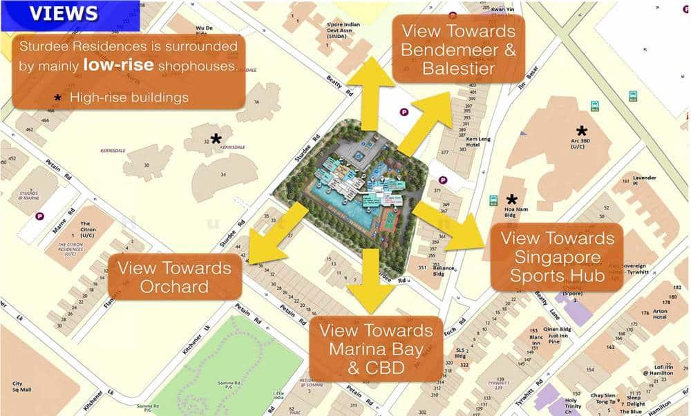 Sturdee Residences - External View