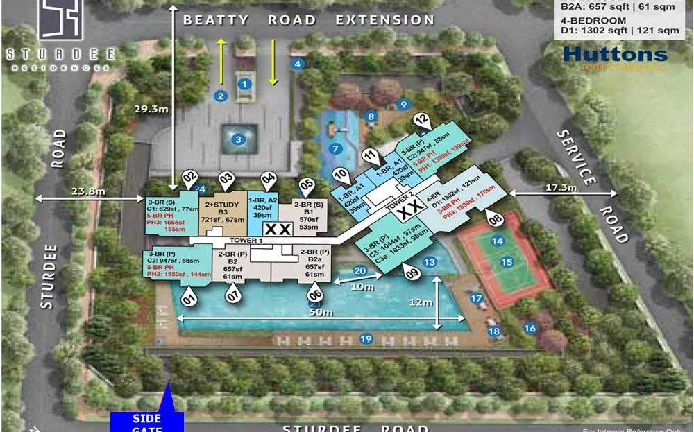 Estella Heights - Facilities Site Plan
