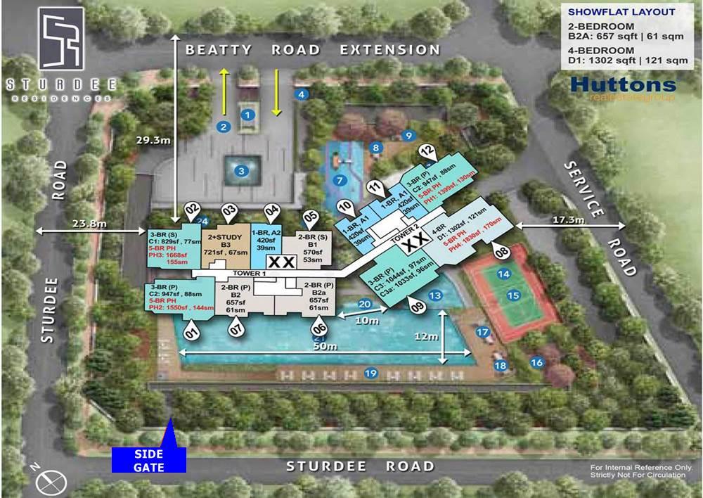 Sturdee Residences - Site Plan