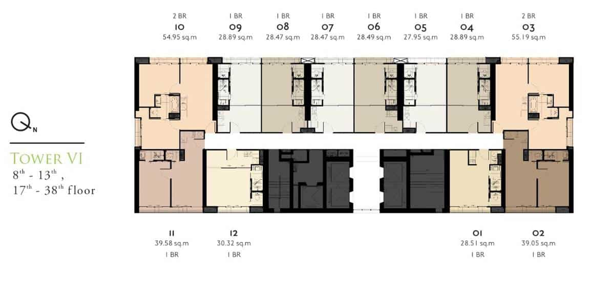 Park 24 - Typical Unit Floor Plan