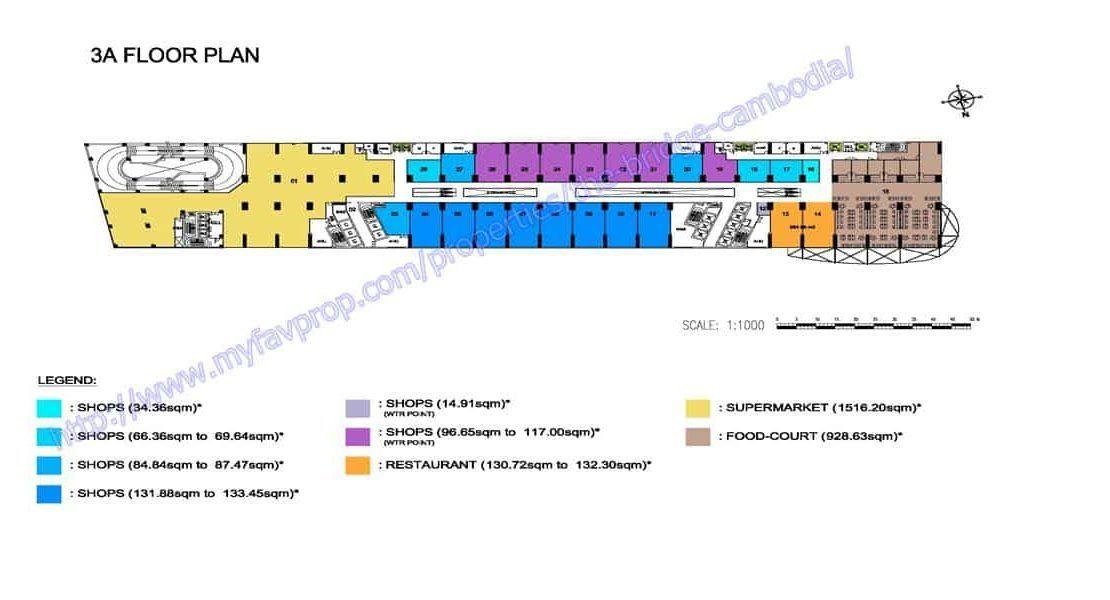 The Bridge Retail Podium - 4th floor plate