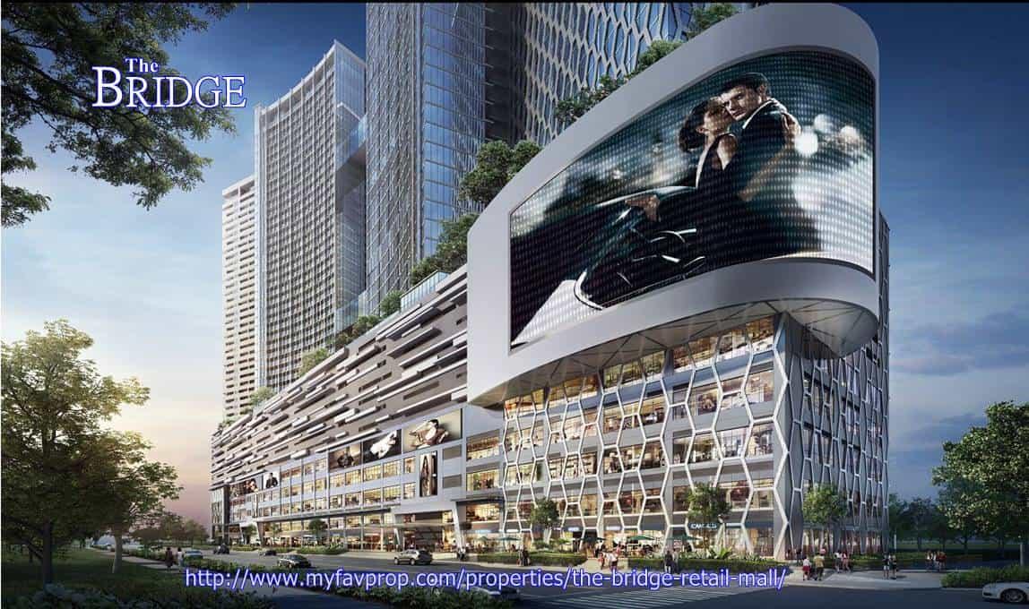 The Bridge Retail Mall - Facade