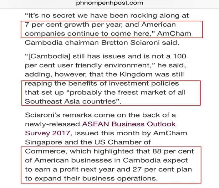 Cambodia Property News - US in Cambodia