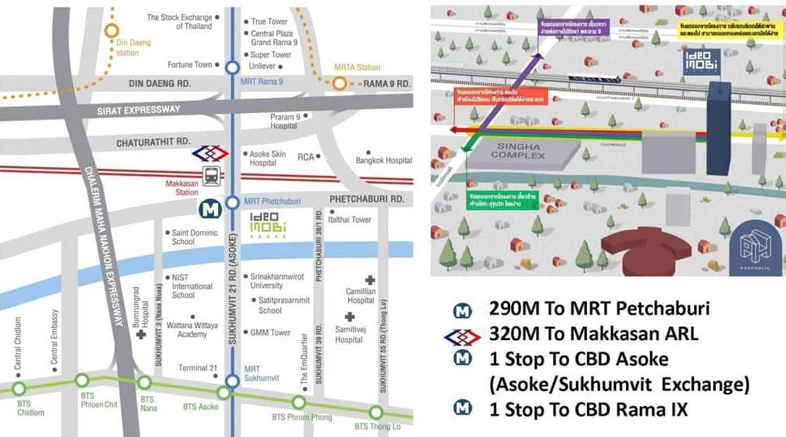 Ideo Mobi Asoke - Location