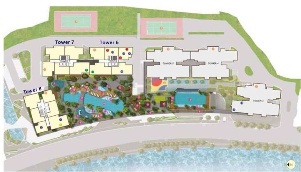 The View Riviera Point - Site Plan