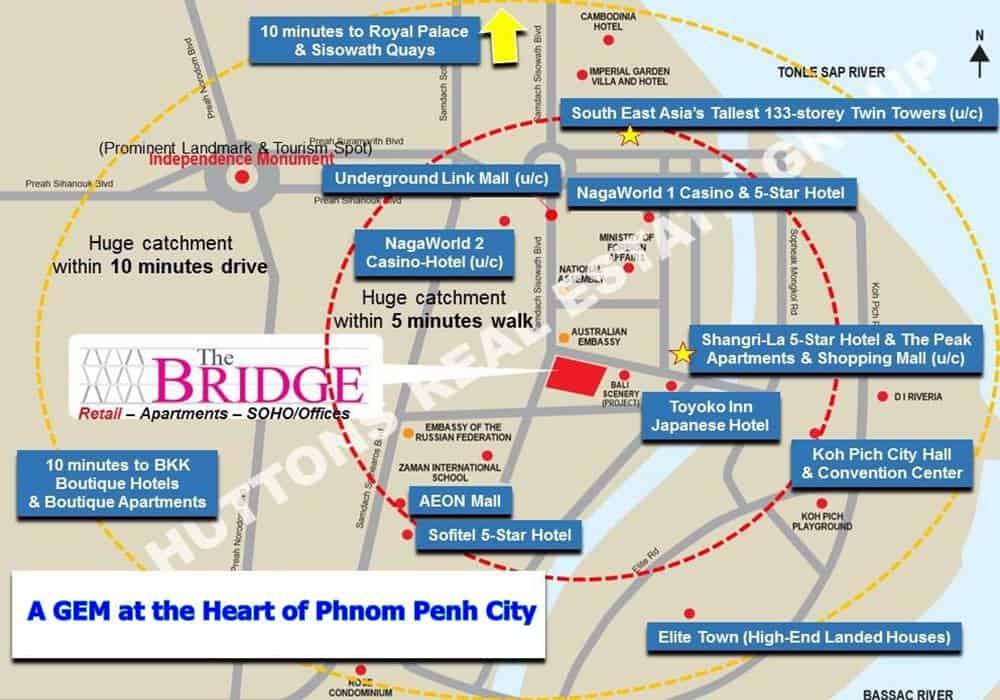 The Bridge Retail Mall Location